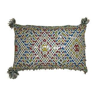 Moroccan Diamond Pattern Pillow Sham