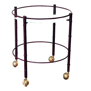 Radiant Orchid Cocktail Table