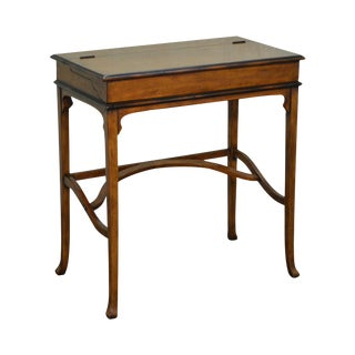 Jonathan Charles Chateau du Vallois Campaign Style Writing Desk