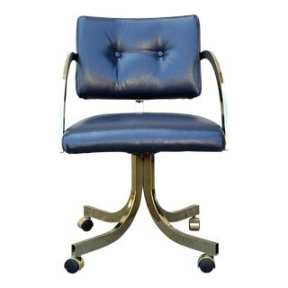 Vintage Milo Baughman Office Chair