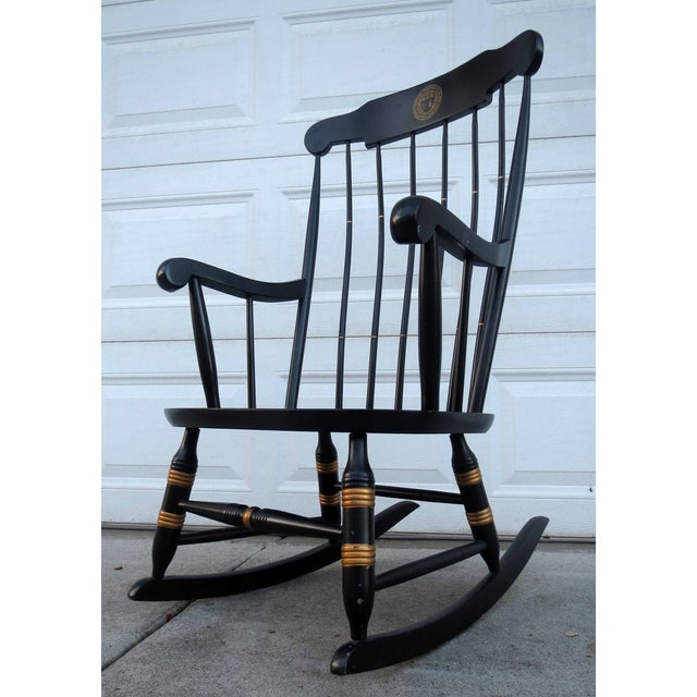 Nichols & Stone Hitchcock Windsor Rocker Chair - Image 2 of 5