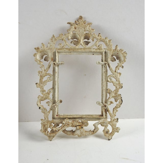 Vintage Shabby Chic Iron Picture Frame - Image 3 of 4