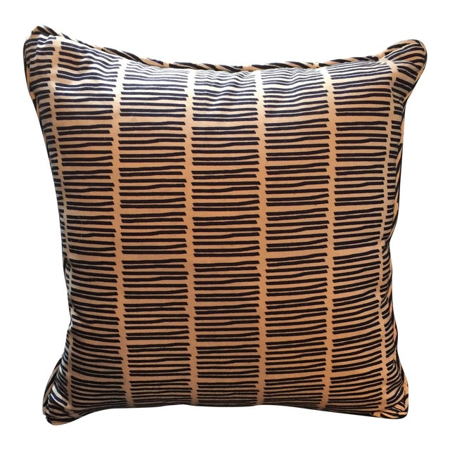 Matchstick Stripe Pillow - Image 1 of 3