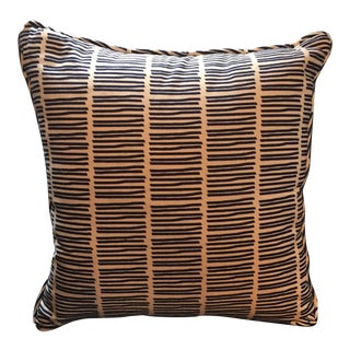 Matchstick Stripe Pillow