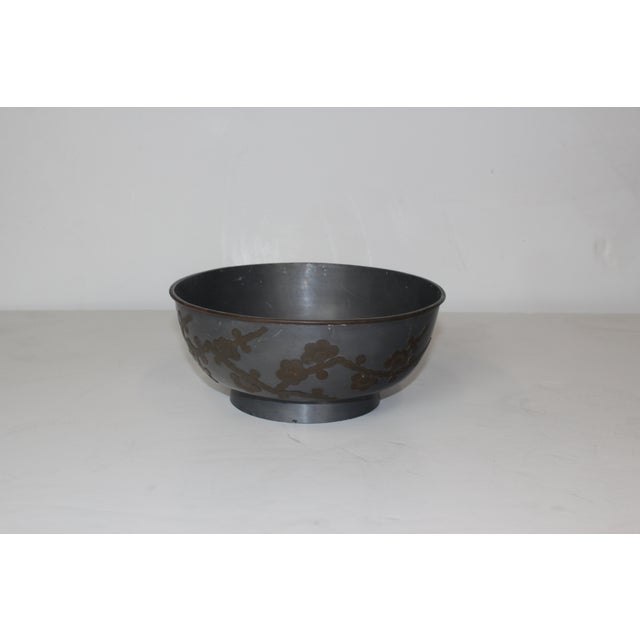 1950s Pewter Bowl - Image 2 of 5