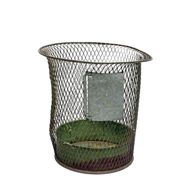 1930s Nemco Wire Wastebasket - Image 1 of 3