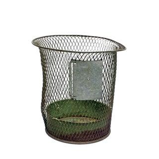 1930s Nemco Wire Wastebasket