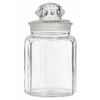 1950s Large Glass Jar