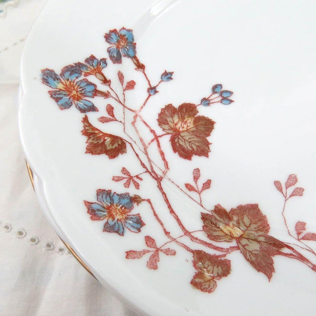 Mismatched Vintage Hand Painted Plates - Set of 4 - Image 5 of 11