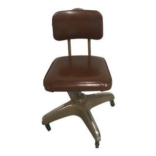 Vintage Mid-Century Industrial Metal Chair