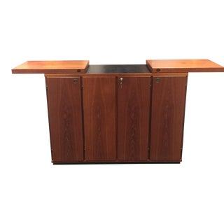 Erik Buch Teak Bar Cabinet on Castors