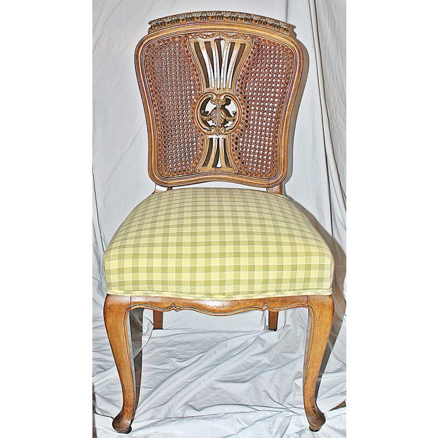 Swedish Gustavian Dining Chairs - Set of 4 - Image 2 of 9