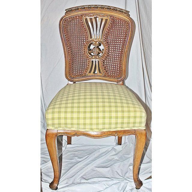Image of Swedish Gustavian Dining Chairs - Set of 4