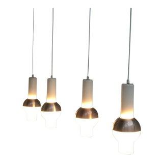 "Raak Lighting Architecture Amsterdam ""space Age"" Pendants Model B1242, 1966"
