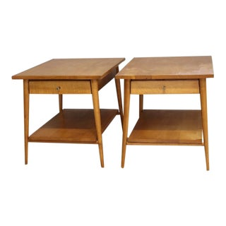 Paul McCobb for the Planner Group Mid-Century End Tables - A Pair