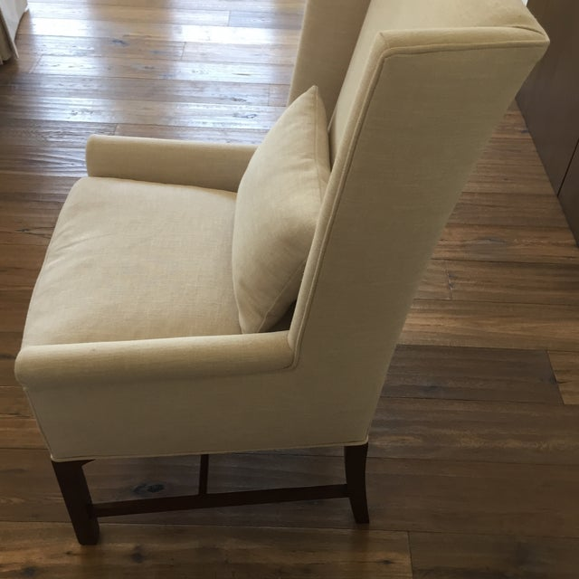 how to clean linen dining chairs