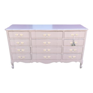 French Provincial 12 Drawer Dresser