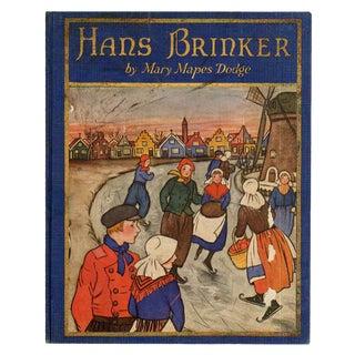 """Hans Brinker"" 1926 Book"