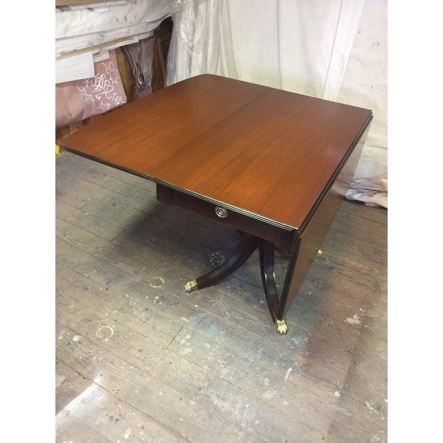 Antique Restored Drop Leaf Table - Image 6 of 10