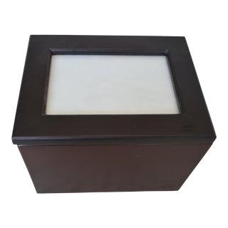 Cherry Wood Photo Box