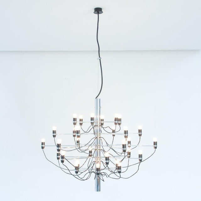 Gino Sarfatti for Flos Sculpture Chandelier - Image 4 of 4