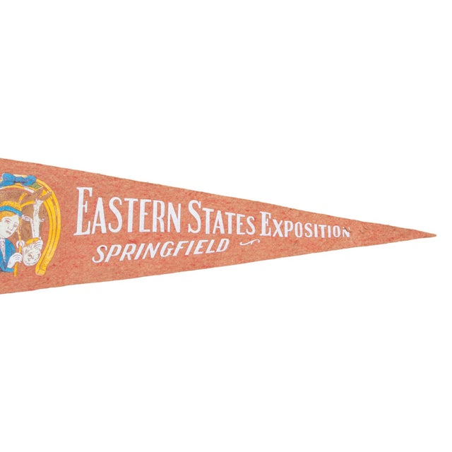 Vintage Eastern States Exposition Felt Flag - Image 2 of 2