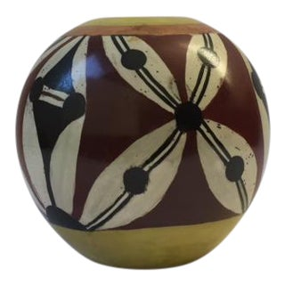 Modern Abstract Art Pottery Vase
