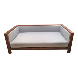 Midcentury-Style Twin Daybed with Hodsoll McKenzie Wool Fabric