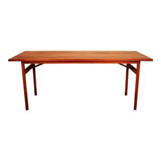 Walnut Dining Table by Jens Risom