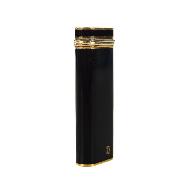 Cartier Paris Black Enamel Lighter - Image 4 of 6