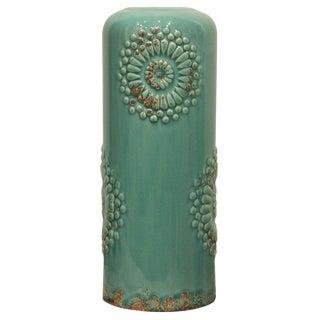 Contemporary Turquoise Vase