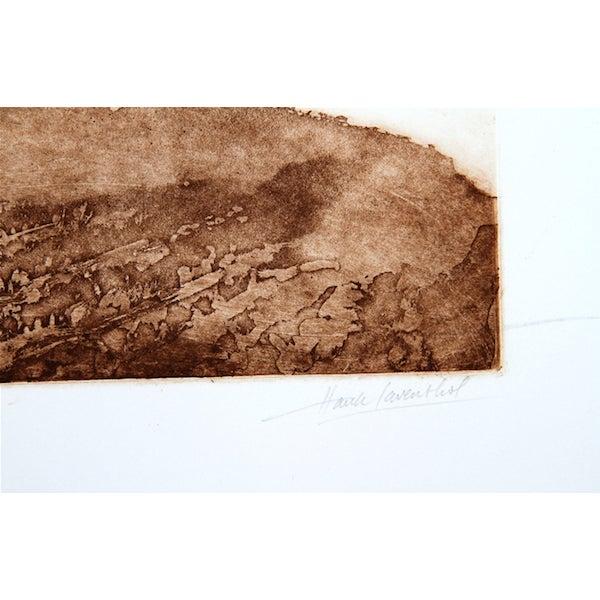 "Image of Hank Laventhol, ""Golden Grapes,"" Aquatint Etching"