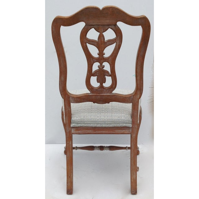 Antique French Parcel Gilt Accent Chair - Image 4 of 11