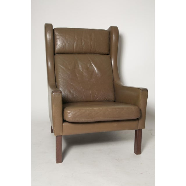 Borge Mogensen Wingback Chairs - Set of Two - Image 3 of 7