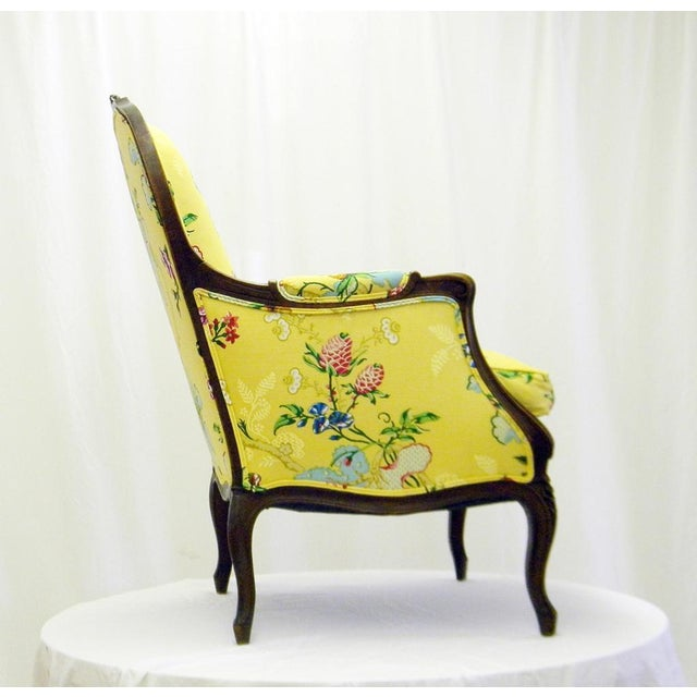 Yellow Lady's Chair With Down Cushion - Image 3 of 7