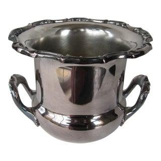Vintage Silver-Plate Ice Bucket