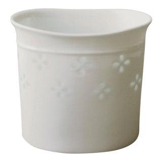 Dansk Willow Candle Holder Porcelain Rice Willowlight Gunnar Cyren Mid Century