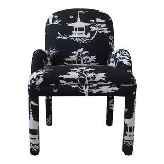 Chinoiserie Style Parson Chair