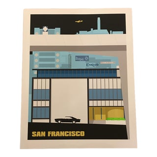 Modern Print of San Francisco