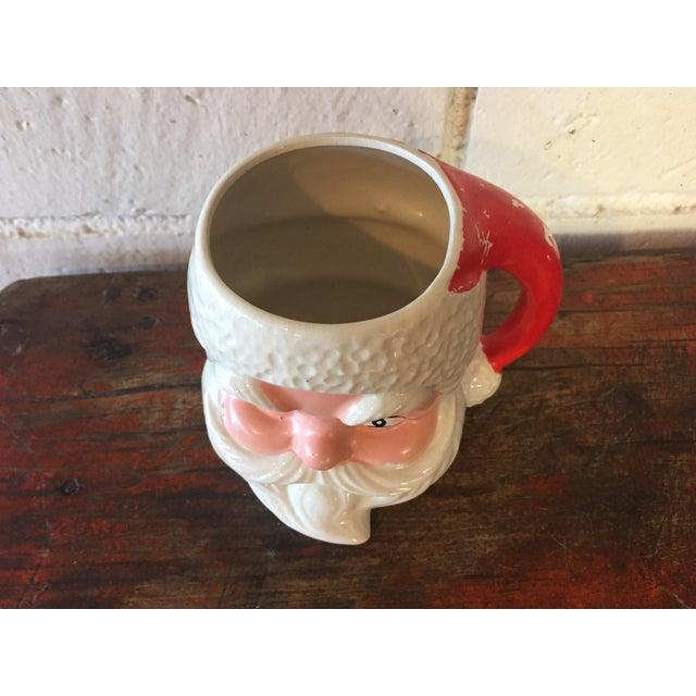 Image of 1950s Santa Claus Face Mug