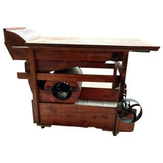 Repurposed A.T. Ferrel Grain Cleaner Table