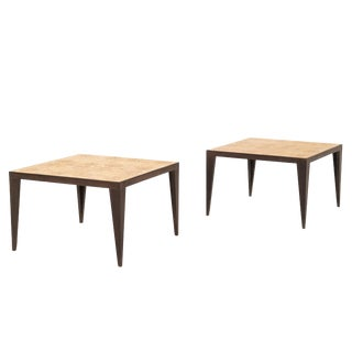 Pair of Roberto Sorrendoguy End Tables