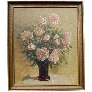 Roses Still Life by Harald Erhard-Hansen
