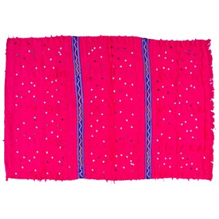 Pink Moroccan Berber Throw
