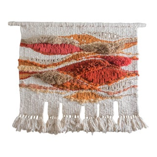 Vintage Woven Sunset Wall Art by Romeo Reyna