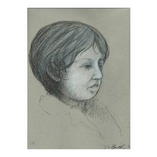"""Griffin"" Portrait Drawing"