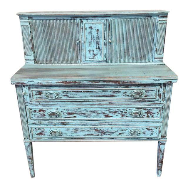 Restored Federal Style Secretary Desk - Image 1 of 10