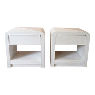 Crespi Style Side Tables - Pair