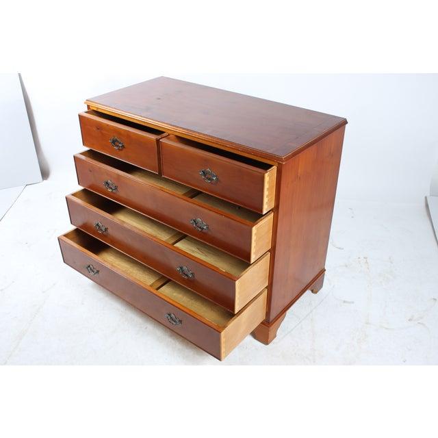 1920s Yellow Pine Dresser - Image 3 of 6