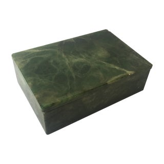 Green Marble Box